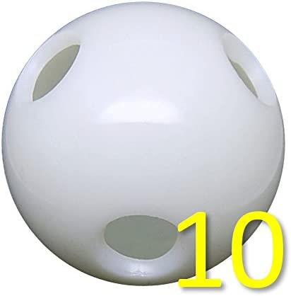 Wiffle//Hole Ball for Batting Practice 70 Gram 2.9 Diameter Power Force Flex Softball 20 Flex Softballs Mega Pack