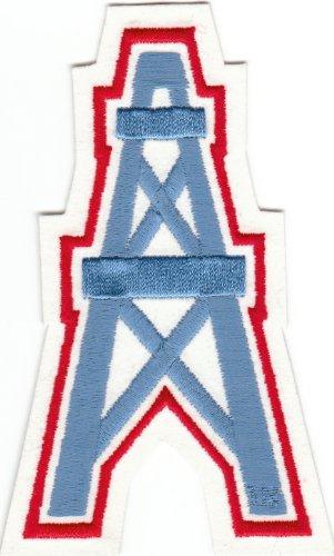 Vintage Houston Oilers Oil Well Logo 5