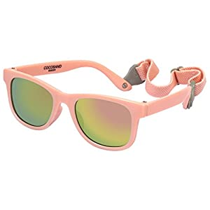 Cocosand Navigator Sunglasses with UV400 Lens and Adjustable Neoprene Straps & Exciting colors