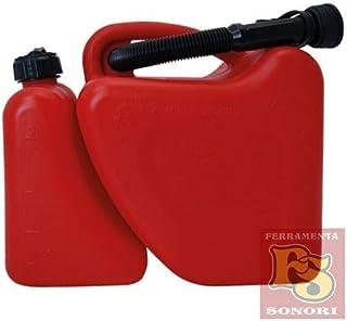 capacidad nominal 8/L Negro H/ünersdorff Bid/ón para cambio de aceite 130x300x500 mm