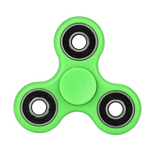 Fidget Spinner ADHD Anxiety Toys 5 Pack Stress Relief Reducer Spin for Adults Children Autism Fidgets Best EDC Hand Spinners Bearing Trispinner Finger Toy Focus Fidgeting Restless Tri-spinner SCIONE