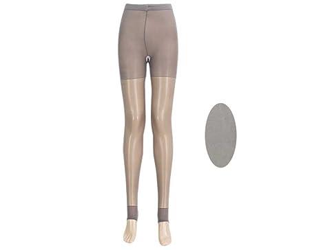 7055875d9 BONAMART ® Women Sexy Korean Nylons Open Crotch Crotchless Pantyhose tights  Grey  Amazon.co.uk  Clothing