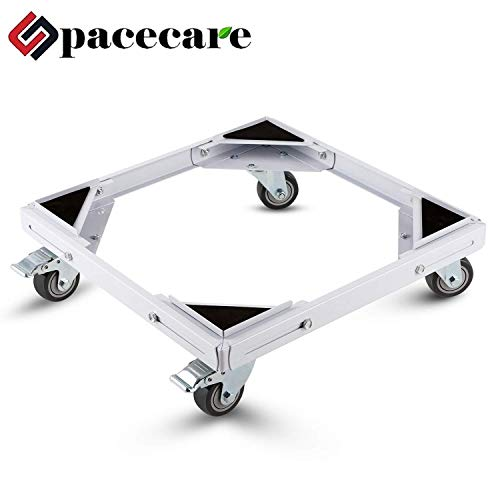 SPACECARE Telescopic Furniture Dolly Roller with Swivel Locking Casters