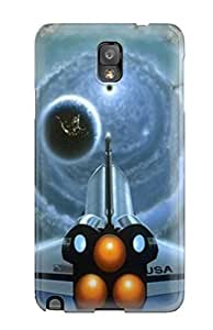 New Space S Tpu Case Cover, Anti-scratch JessicaBMcrae Phone Case For Galaxy Note 3
