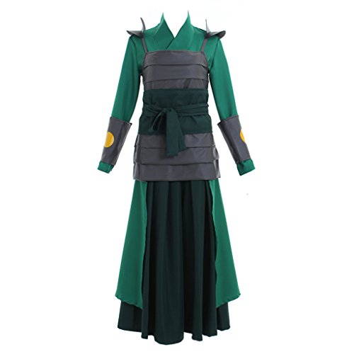 CosplayDiy Women's Suit for Avatar The Last Airbender Cosplay Costume XXL]()