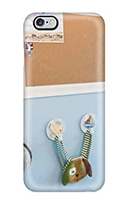 Hot Tpu Cover Case For Iphone/ 6 Plus Case Cover Skin - Blue Boys Room With Bulletin Board
