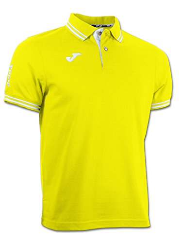JOMA BALI S/S POLO SHIRT Uniforms MANN yellow