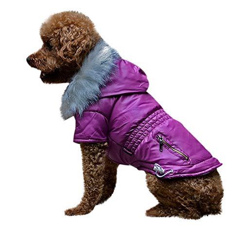 Geetobby Pet Dog Winter Warm Jacket Cat Puppy Hoodies Costume Coat Apparel]()