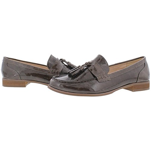 Steve Madden Vrouwen Franco Lakleer Loafers Taupe Patent