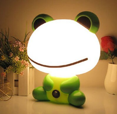 Cute Cartoon Bean Frog Lamp