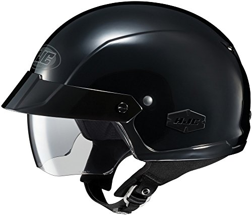 (HJC IS-Cruiser - Half-Shell Open-Face Street Helmet - Black - XL)