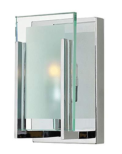 Hinkley 5650CM Contemporary Modern One Light Bath from Latitude collection in Chrome, Pol. Nckl.finish, (Hinkley Latitude)