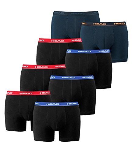 black 2 Peacoat 2p Para De Hombre Calzoncillos Red 1x Basic Boxer boxer blue Head Pack orange 3x zqTOwzg