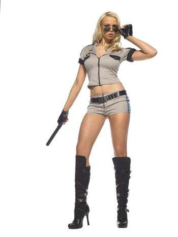 Sheriff Costume Leg Avenue (STRIP SEARCH SHERIFF SZ MD LG)