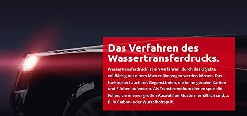 Mst Design Wassertransferdruck Folie I Starter Set Klein I Wtd Folie Dippdivator Aktivator Zubehör I 4 Meter Mit 50 Cm Breite I Camouflage Grün I Ca R 044 Auto