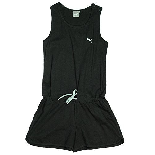 PUMA Girls Romper One Piece Playwear Outfit -PUMA Black-Small 7