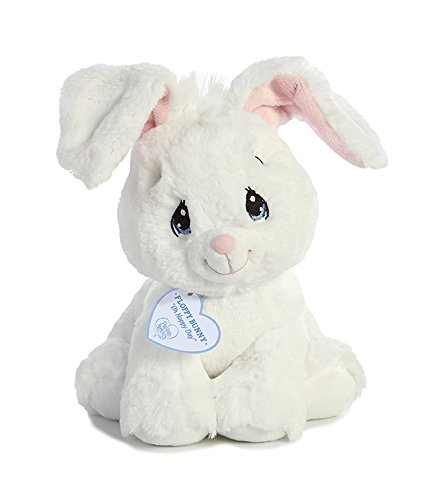 Aurora World White Floppy Plush Bunny, Small from Aurora
