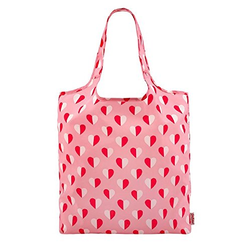 Pink Hearts In Cath Mono Kidston Shopping Bag Design Foldaway xpPqqwfX0