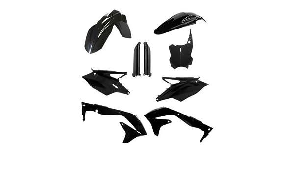 Acerbis Side Panels Black for Kawasaki KX250F 2013-2016