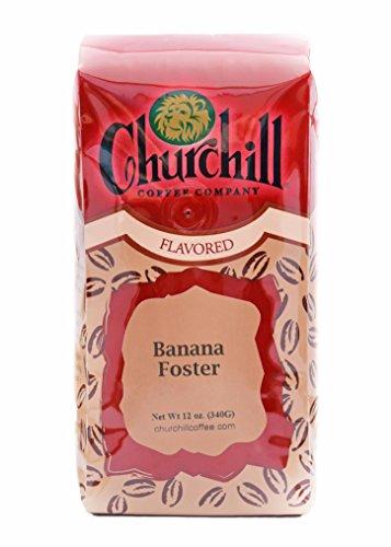 (Churchill Coffee Banana Foster 12 oz - Ground)