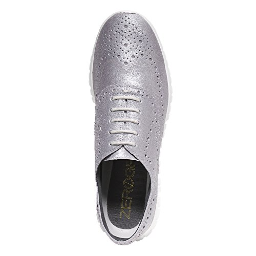 Cole Haan Women's Zerogrand Wing Ox, CH Argento Metallic, 7.5 B US by Cole Haan (Image #2)