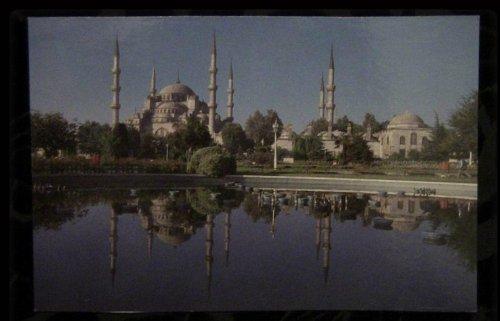 Turkey - Istanbul - The Blue Mosque c1970 Postcard [blank]