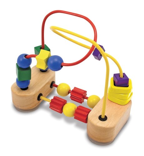 Melissa & Doug First Bead Maze - Wooden Educational Toy Melissa and Doug 13042