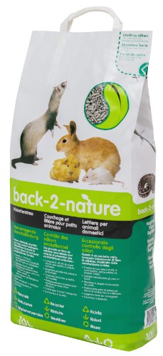 Fibrecycle USA Inc. Back-2-Nature Small Animal Bedding 10 Liter (Recycled Paper Pellets)