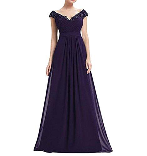 the Damen Kleid Beauty of 46 Leader violett Gr AxHa5w