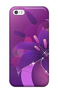 New Premium Flip Case Cover Flower Skin Case For Iphone 5/5s