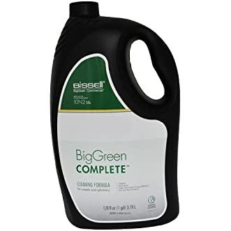 10NS Bissell Big Green Complete De-foamer with Odor neutralizer Carpet Shampoo. 1 Gallon