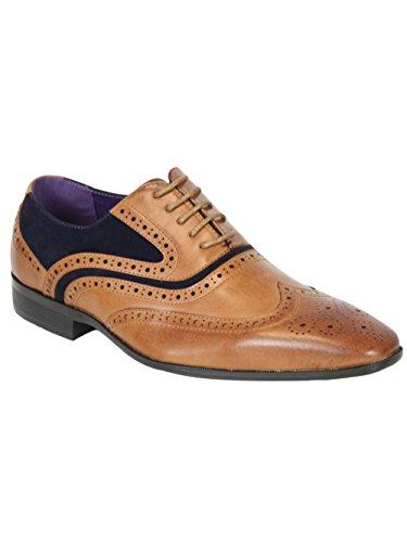 Kebello - Schuhe ELO580 Tan/Black Braun