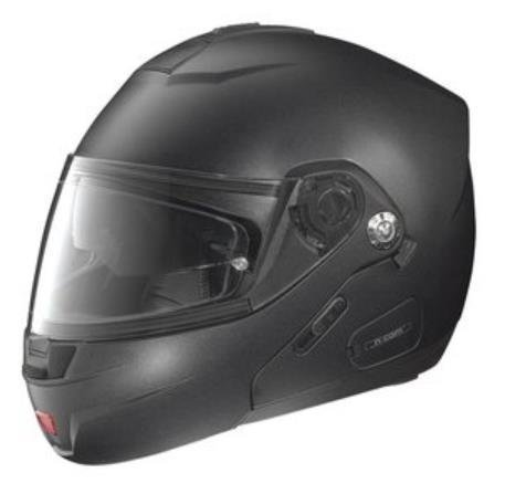 Nolan N44 Trilogy Outlaw Helmet (Flat Black, XXX-Large)