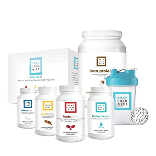 Shapeologist Weight Loss Kickstarter Bundle for Men and Women - 60 Day Kit - 15 Day Cleanse, Burn Blend, Curb Blend, Dream Blend, Lean Protein with Blender Bottle®   by Shapeologist Nutrition (Image #9)