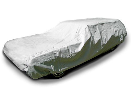 CarsCover 100% Waterproof Station Wagon Fit up to 225 inch Car Cover Heavy Duty All Weatherproof Ultrashield (Station Wagon Car)