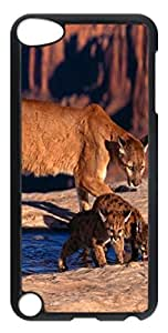 Animals 086 PC Case Cover for iPod Touch 5 Transparent
