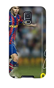 Forever Collectibles Andres Iniesta Barcelona Hard Snap-on Galaxy S5 Case