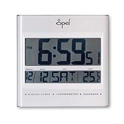 Digital LCD Table Clock