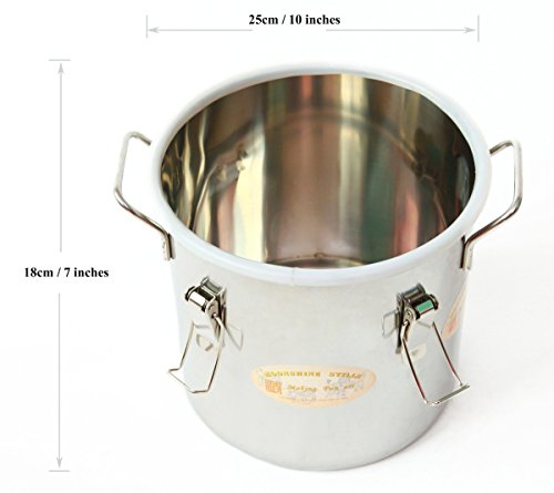 DIY 2 Gal 10 Liters Home Alcohol Whiskey Distiller Moonshine Still Stainless Steel Boiler Wine Making Kit by WMN_TRULYSTEP (Image #3)