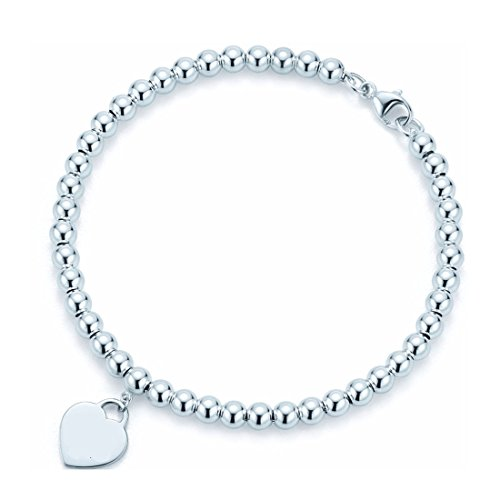 Return to heart fashion 925 silver bracelet (Tiffany Und Co Tiffany)