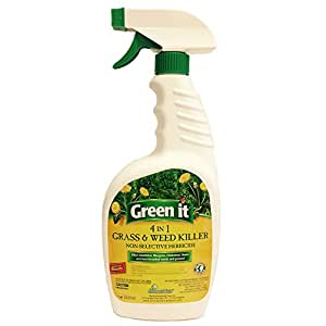 Green it  Grass, Moss and Weed Killer, 32-Ounce RTU