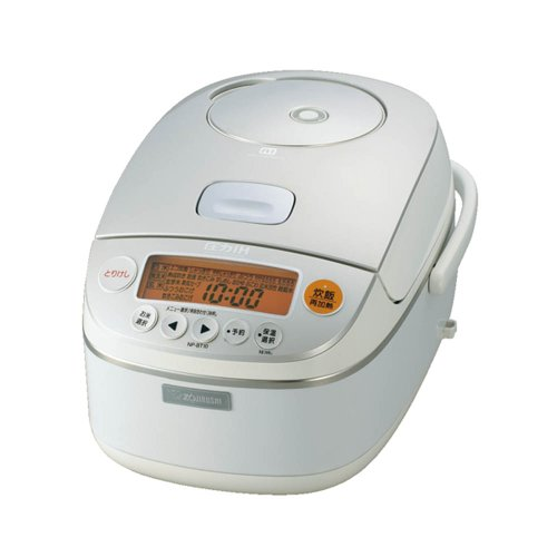 ZOJIRUSHI pressure IH rice cooker NP-BT10-WB(Japan Import)