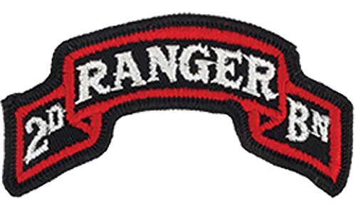 75th Ranger 2nd BN Full Color Dress Patch ()