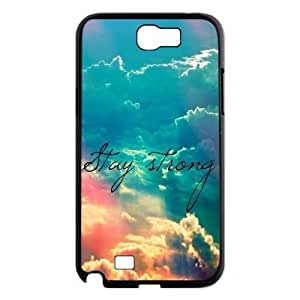 Stay Strong Use Your Own Image Phone Case for Samsung Galaxy Note 2 N7100,customized case cover ygtg608074