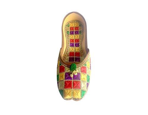 Step KAMEEZ BALLET Multi FLAT KHUSSA SALWAR Style JOOTI LADIES ANARKALI FLAT MOJARI n JUTI gPqg6wr
