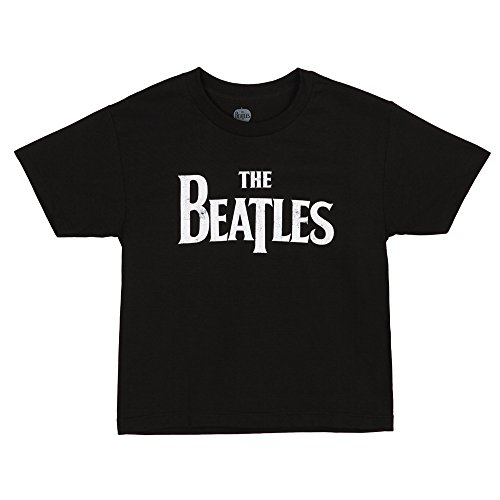 The Beatles Classic Distressed Logo Youth T-Shirt