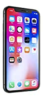Apple iPhone X, GSM Unlocked, 256GB - Space Gray (Refurbished)