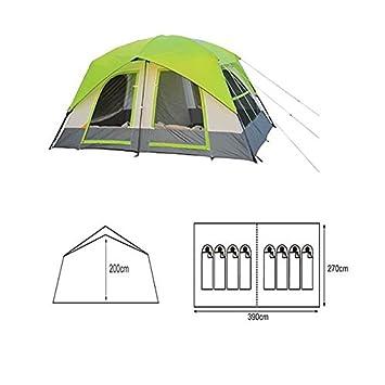 Inesca - TIENDA DE CAMPAÑA INESCA CABIN 8 - TIENDA 8 PERSONAS: Amazon.es: Deportes y aire libre