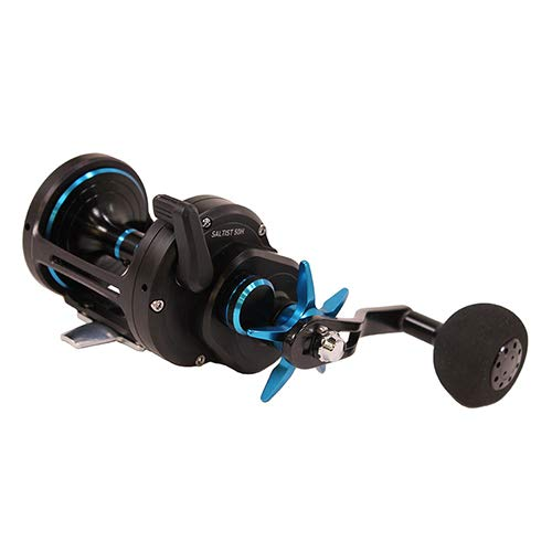 - Daiwa SALTIST40H Saltist Star Drag Casting Reel, Size 40, 6.4: 1 Gear Ratio, 5 Bearings, 47.10