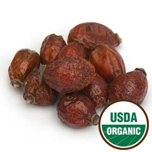 Starwest Botanicals Whole Organic Rose Hips, 1 Pound